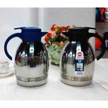 单个德国不锈钢保温壶 爱慕莎EMSA保温壶 18/10医用不锈钢内胆暖瓶
