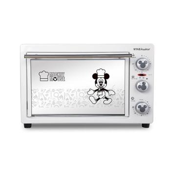 荣事达迪士尼电烤箱22L大容量慕斯风情电烤箱RK-22B