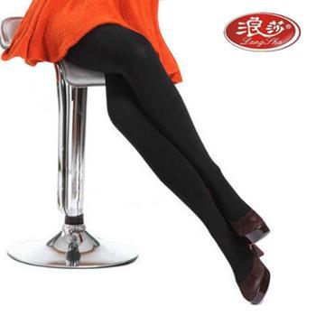 浪莎2条装丝袜女2200D加厚天鹅绒连裤袜