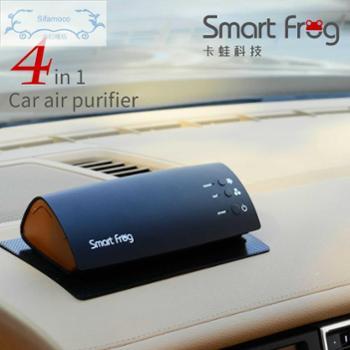 卡蛙车载空气净化器负离子家用车用氧吧