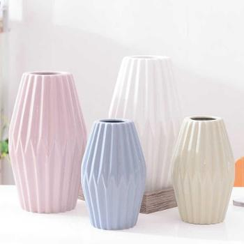 月光走廊北欧陶瓷花瓶花器可储水绿植家居装饰摆件