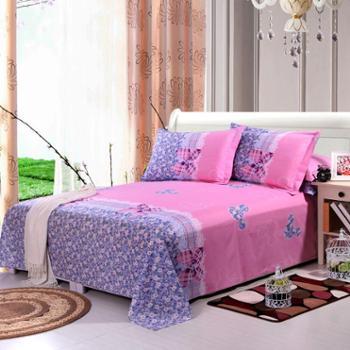 锦华家纺纯棉床单全棉单人学生宿舍吸湿耐磨床单单件