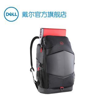 戴尔DELL15.6英寸游戏双肩背包(结实耐用、多空间存储)官方品质V型气流设计耐磨防水