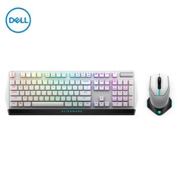 外星人(Alienware)专业级电竞键盘鼠标套装AW610M无线RGB游戏鼠标+AW510K键盘