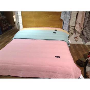 【展艺】韩式高密水洗布薄被双人被床褥被盖