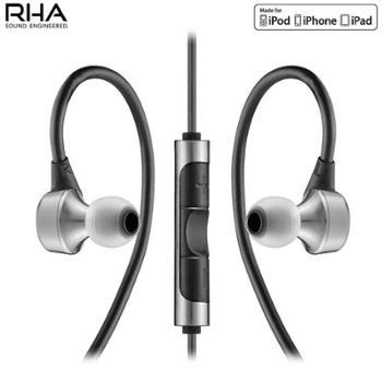 RHA MA750i Noise-Isolating 隔离噪音 苹果线控入耳式 可通话耳机