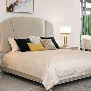 艾美家具欧简约风格实木床欧式家具卧房组合