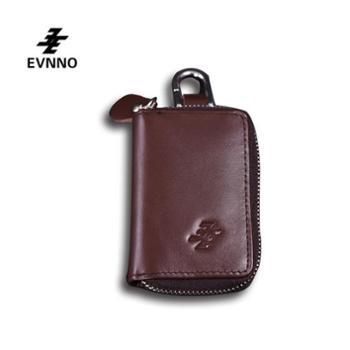意威诺(evnno)钥匙包真皮多功能零钱包钥匙包Y015-AK