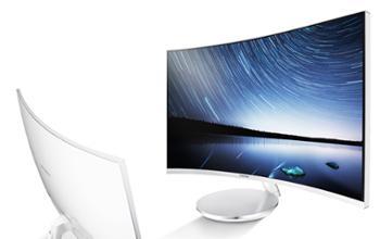 三星带音响显示器C27JG微边框27英寸曲面电脑屏