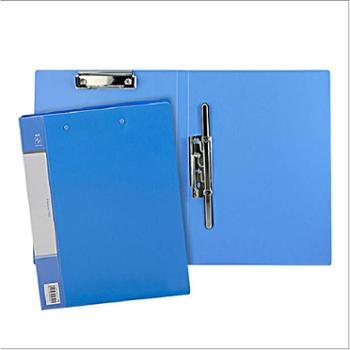 得力办公用品5349文件夹8寸长押夹板夹A4文件夹资料夹文件整理夹单只价