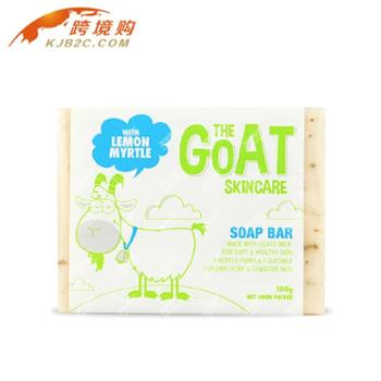 GoatSoap手工山羊奶皂(柠檬香桃味)100g