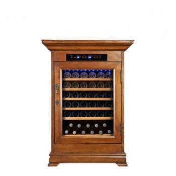 欧帝诺红酒柜节能环保电子制冷触摸屏葡萄酒酒柜(恒温恒湿家用型)BJW-118
