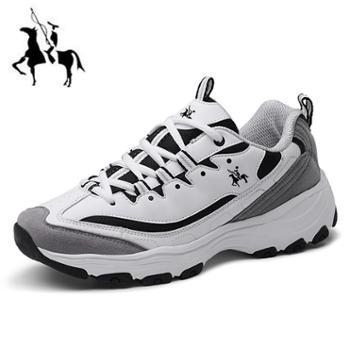 保罗新款春款男鞋运动鞋男士休闲鞋子男潮鞋气垫增高男旅游鞋