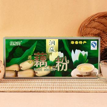 绿乡灵450g盒装无糖纯藕粉无添加原味农家纯手工连藕粉代餐粉