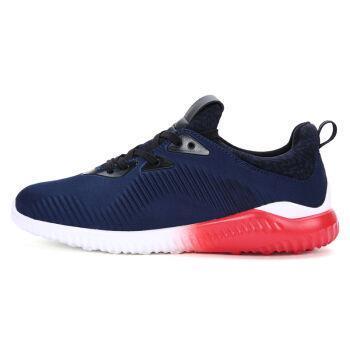 YESADO男鞋跑步鞋男跑鞋新款休闲鞋飞织网步透气耐磨运动鞋男(89-330)