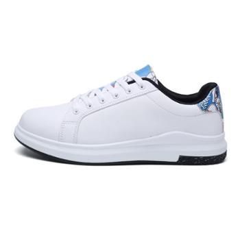 耶斯爱度情侣白色休闲鞋(三毛1129)