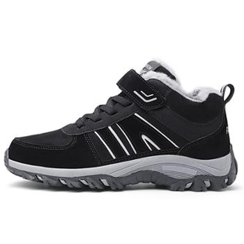 KissQueen冬款棉鞋加绒休闲鞋运动鞋保暖防滑鞋A1818