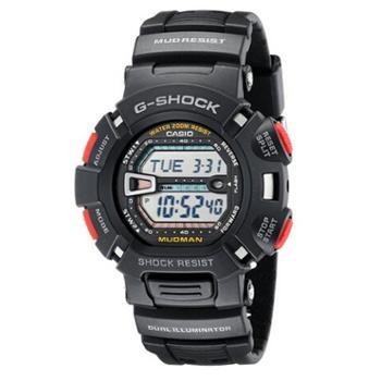 卡西欧G-SHOCK电子表运动防水防振男表G-9000-1VPR