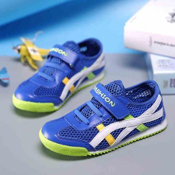 BUZ童鞋男童鞋女童鞋儿童网鞋春季儿童鞋子儿童运动鞋休闲鞋跑鞋