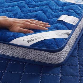 床垫1.5m床防潮透气榻榻米折叠1.2/1.8米珊瑚绒海绵床褥学生床垫