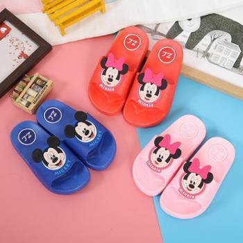 新款儿童卡通拖鞋可爱男女童夏季室内家居软底拖鞋亲子防滑一字拖