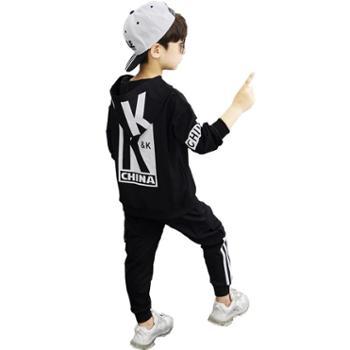 男童秋装套装中大童洋气运动童装儿童潮