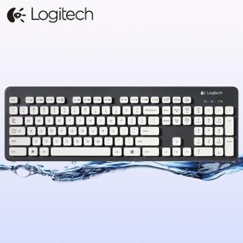 罗技K310防水水洗USB有线键盘笔记本台式电脑