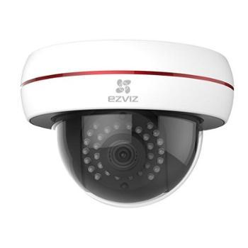 萤石C4S商铺宝互联网摄像机会客流量统计的小半球