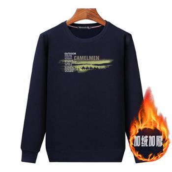 Aeroline秋冬新款T恤长袖休闲厚款宽松保暖套头卫衣07款