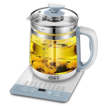 扬子多功能养生壶全自动加厚玻璃电热烧水煮茶器花茶壶家用锅生活用品厨房用具