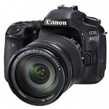 佳能(Canon)EOS 80D单反相机 佳能80D/佳能单反80D 18-135mm套机/佳能单反相机80D 18-200mm套机