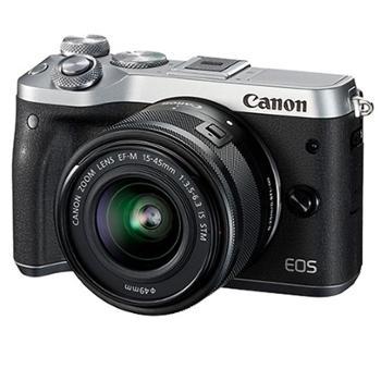 佳能微单相机 M6 微单相机 佳能M6/佳能微单M6 15-45mm套机/佳能微型单反相机M6 18-150mm套机