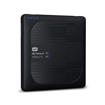 西部数据(WD)My Passport Wireless Pro WIFI无线移动存储 西数移动硬盘