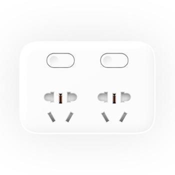 小米(MI)米家二位二控转换器 插座转换器 小米插线板 小米插座转换器 小米排插 小米插座