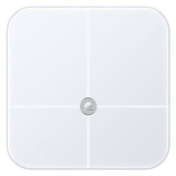 华为 HUAWEI 智能体脂秤wifi版 体重秤脂肪秤家用健康秤电子秤 led显示健身减肥运动 白色CH19 华为体脂称 华为体重称 体脂秤 体重秤