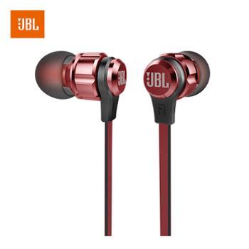 JBL 立体声入耳式耳机 耳麦 运动耳机 带麦可通话 游戏耳机 T180A