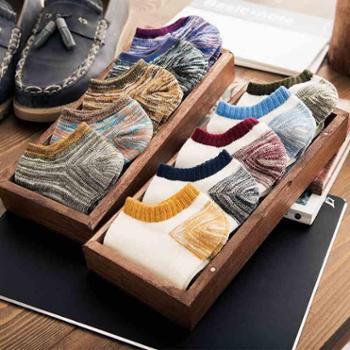 10双装袜子男士夏季薄款低帮短筒短袜吸汗防臭男袜纯棉夏天浅口隐形船袜