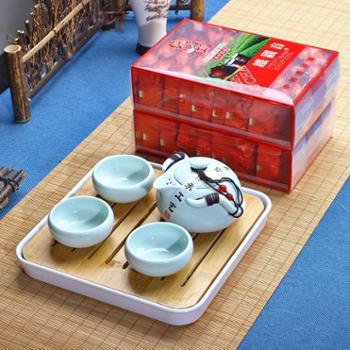 买就送茶具带茶盘安溪铁观音浓香型高山兰花香袋装新茶叶500g