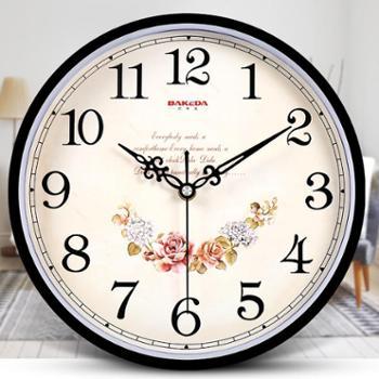 巴科达钟表挂钟时钟挂表石英钟