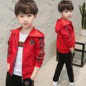 童装男童秋装套装新款韩版儿童春秋洋气大童运动男孩帅气潮衣