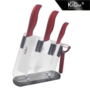 可德-金属红时尚厨房五件套 KC-1017-5-GC
