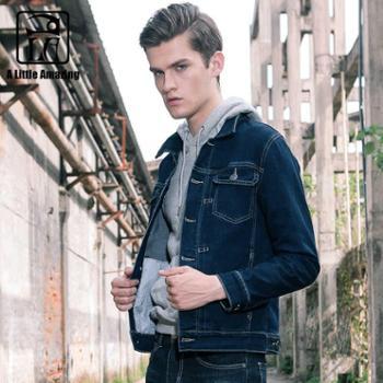 ALA MASTER 男士牛仔夹克 外套男开衫牛仔外套秋冬季潮流长袖外套(款号:1079)