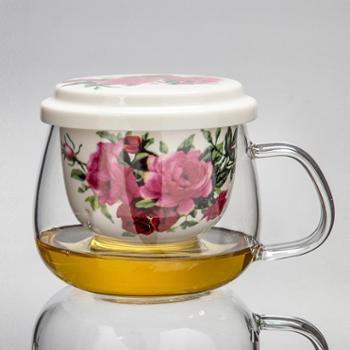 玻璃飘逸杯茶具