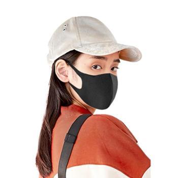 生活用品 口罩潮款个性韩版女神网红儿童可爱透气黑6只
