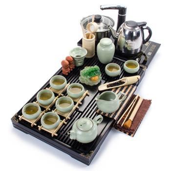 幽雅清香茶具4合1烧水套装