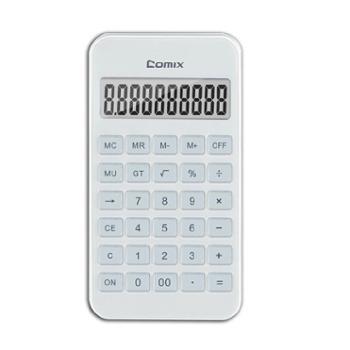 齐心C-4S爱尚10位便携小台计算器(1台)