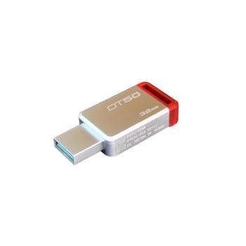 金士顿U盘USB3.1迷你创意金属DT50高速车载U盘32g