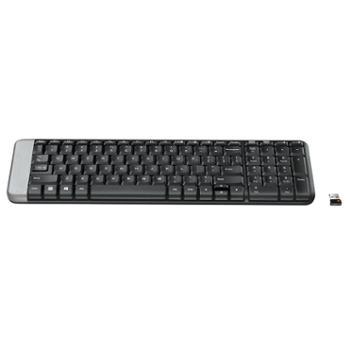 罗技/Logitech K230无线键盘优联笔记本台式电脑键盘迷你薄膜静音键盘