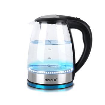 韩国Kitchen-Art蓝光玻璃垫水壶透明家用全自动断电泡茶煮水器