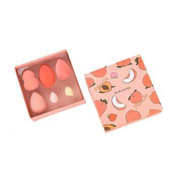 三月兔甜蜜出桃美妆蛋礼盒6只装一盒